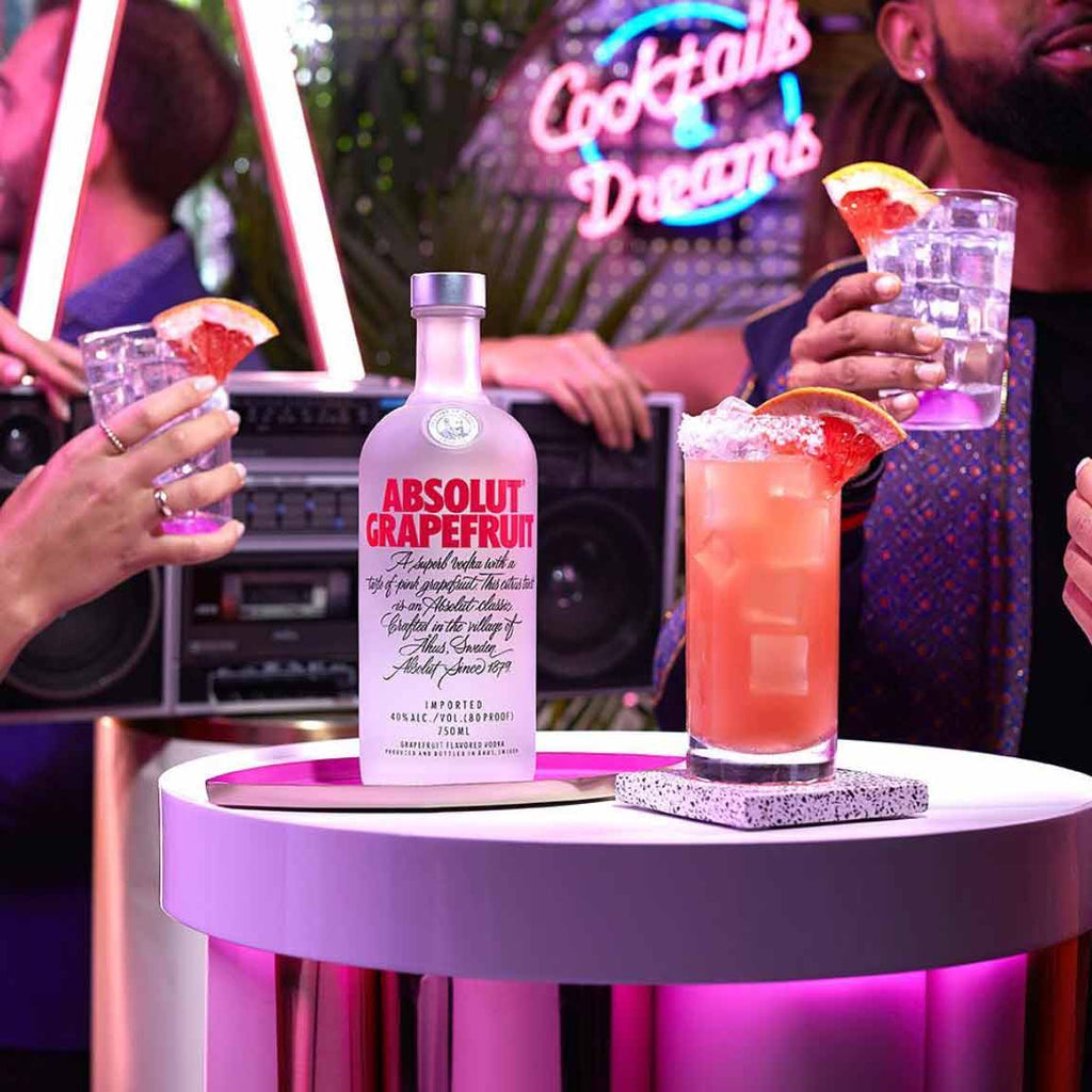 Absolut Grapefruit Vodka 750mL