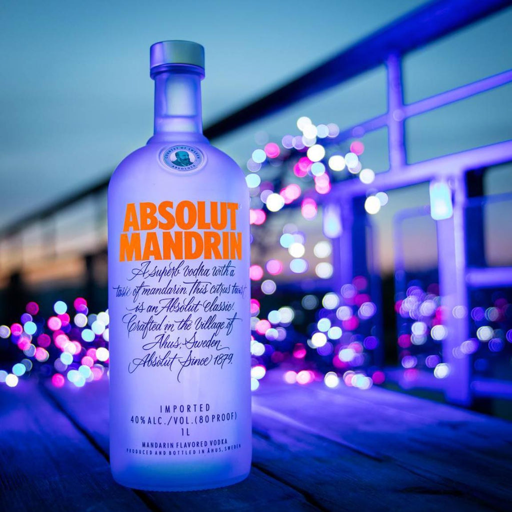 Absolut Mandarin Vodka 750mL