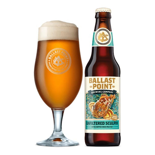 Ballast Point Unfiltered Sculpin Extra Hopped IPA 6pk