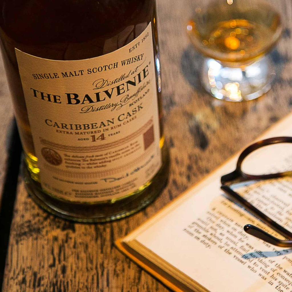 The Balvenie 14 Year Caribbean Cask Single Malt Scotch 750mL