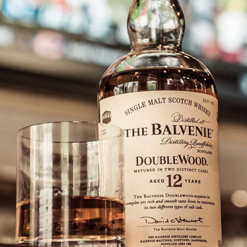 The Balvenie 12 Year Double Wood Single Malt Scotch 750mL