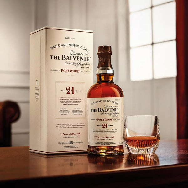 The Balvenie 21 Year Single Malt Scotch 750mL