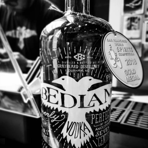 Bedlam Vodka 750mL