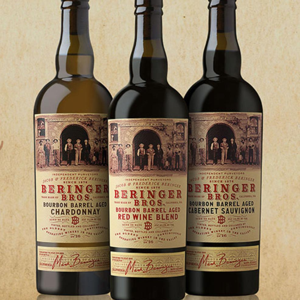 Beringer Bourbon Barrel Red Blend 2016
