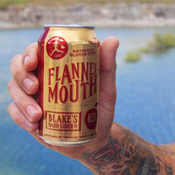 Blake's Flannel Mouth Hard Cider 6pk