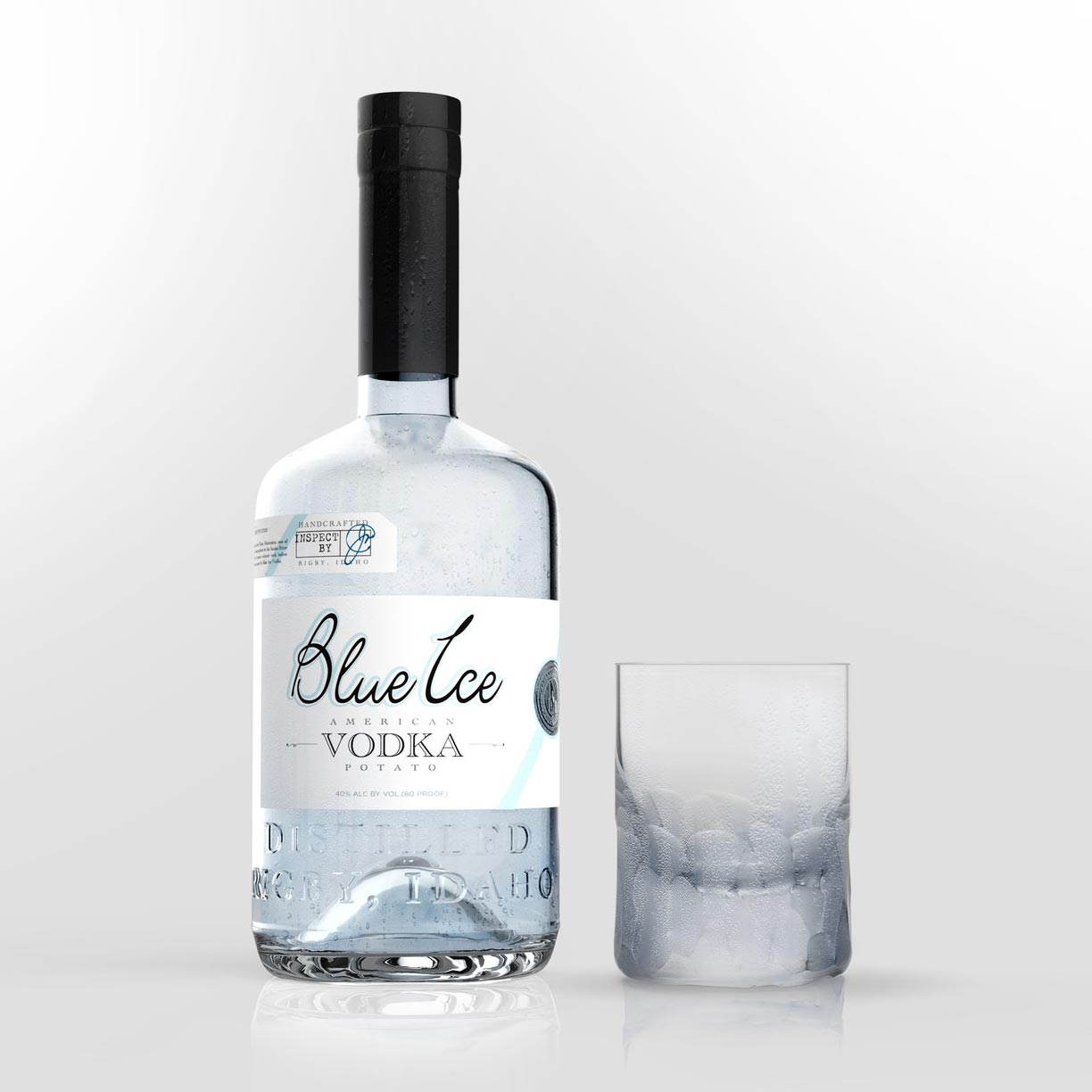 Blue Ice Organic Vodka 750mL – Habersham Beverage