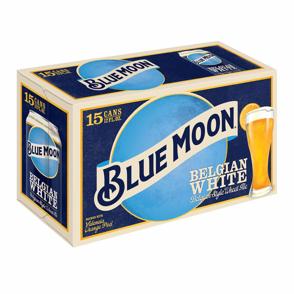 Blue Moon Belgian White 15pk