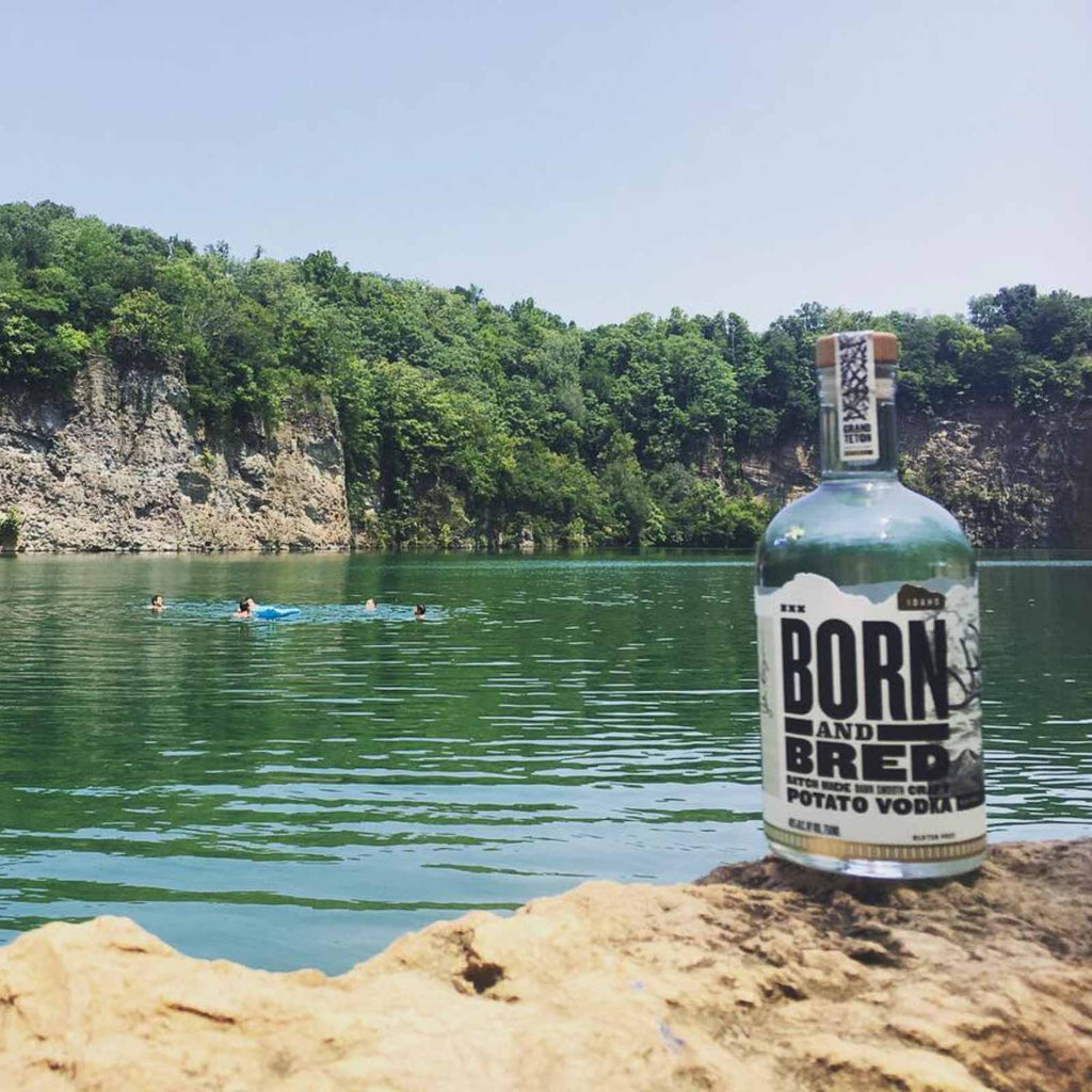 Born and Bred Potato Vodka by Channing Tatum 750mL