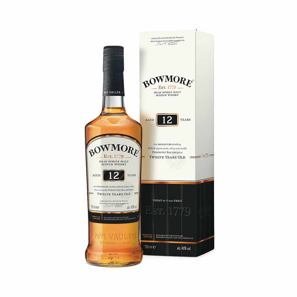 Bowmore 12 Year Single Malt Scotch 750mL