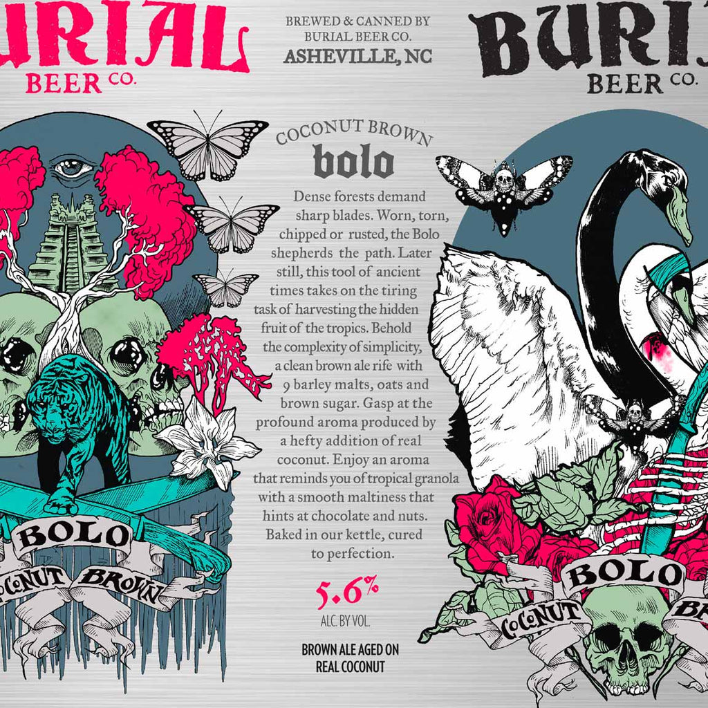 Burial Beer Co. Bolo Coconut Brown 6pk