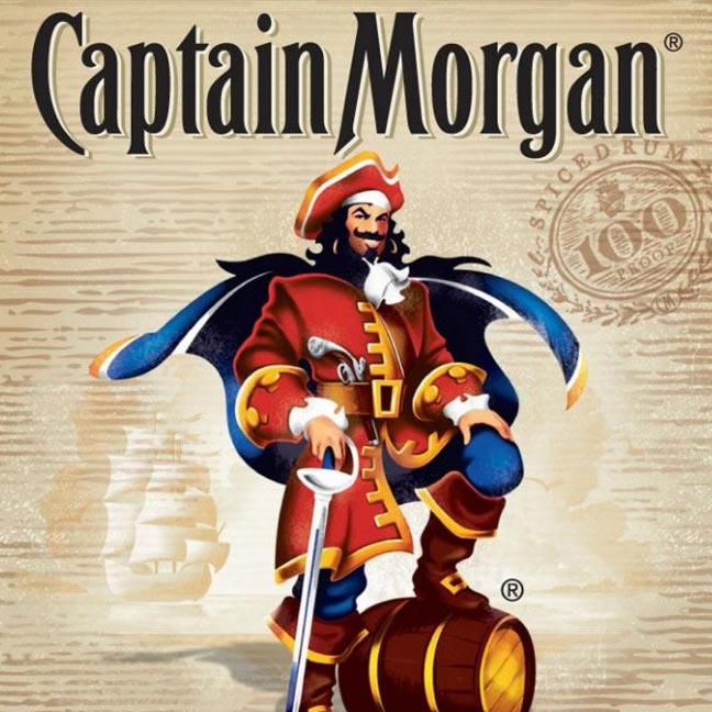 Captain Morgan 100 Proof Spiced Rum 1.75L
