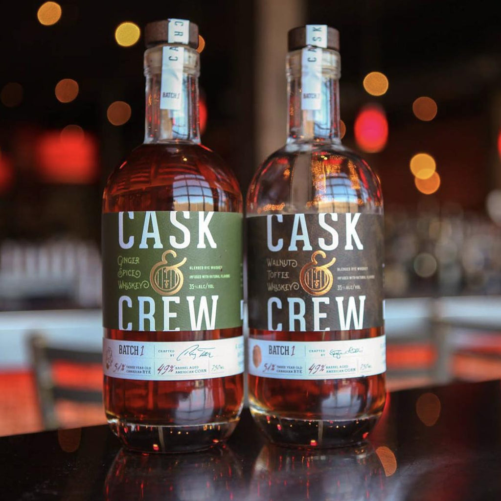 Cask & Crew Ginger Spiced Whiskey 750mL