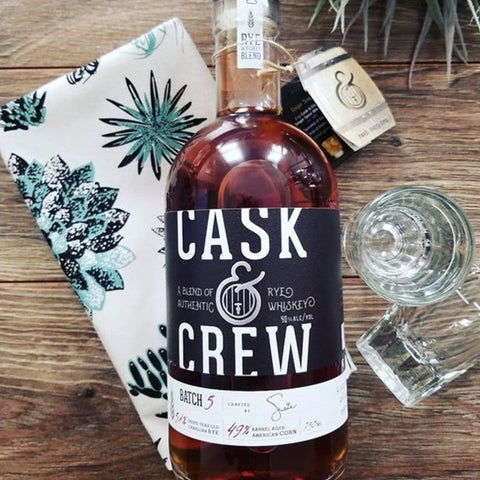 Cask & Crew Rye Whiskey Blend 750mL