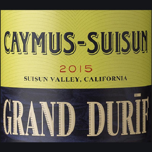 Caymus-Suisun Grand Durif 2015