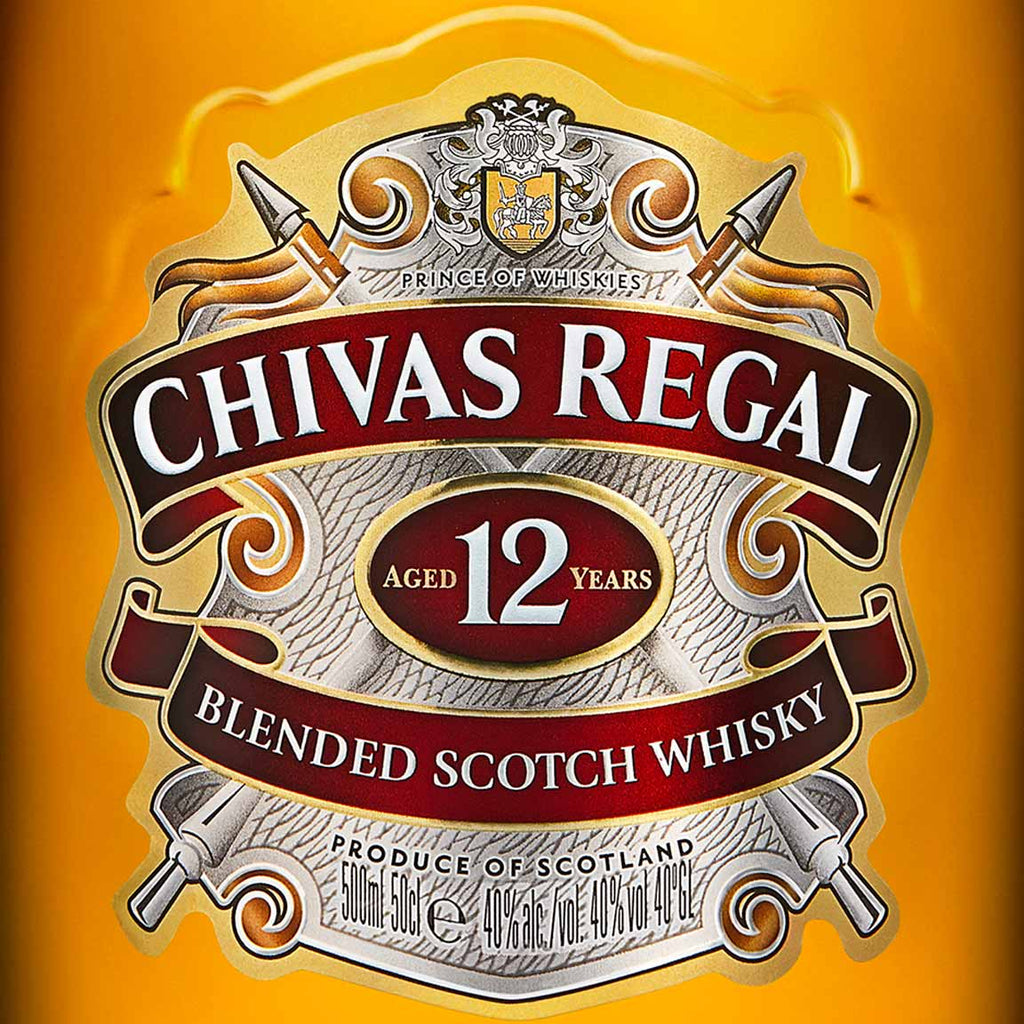 Chivas Regal 12 Year Blended Scotch Whisky 1.75L