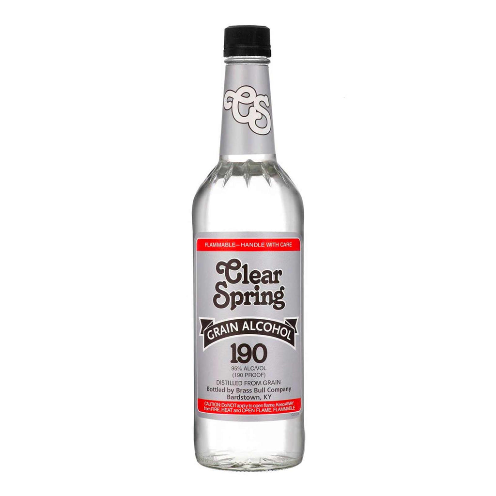 Clear Springs Grain Alcohol 750mL