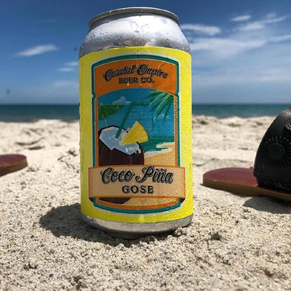 Coastal Empire Coco Pina Gose 6pk