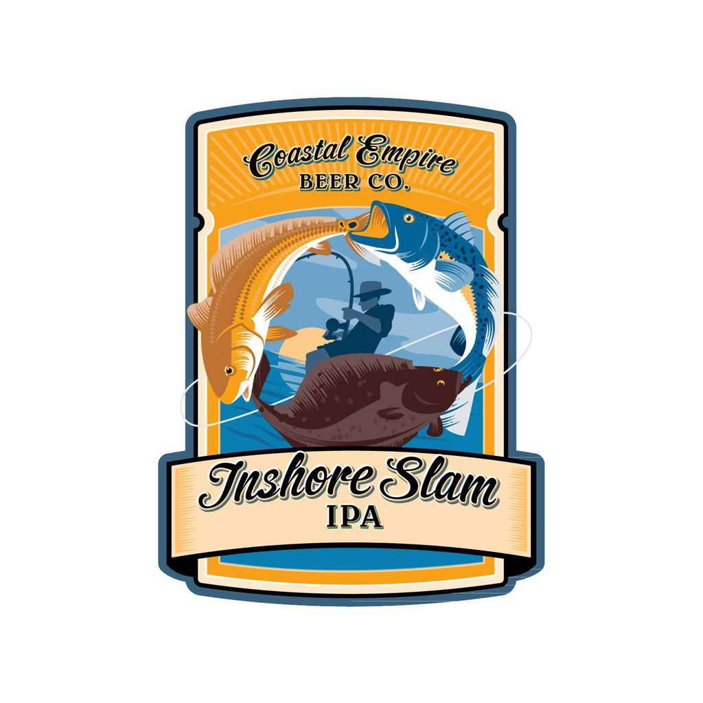 Coastal Empire Inshore Slam IPA 6pk