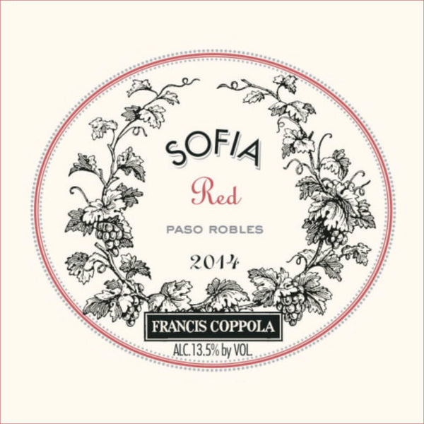 Francis Coppola Sofia Red