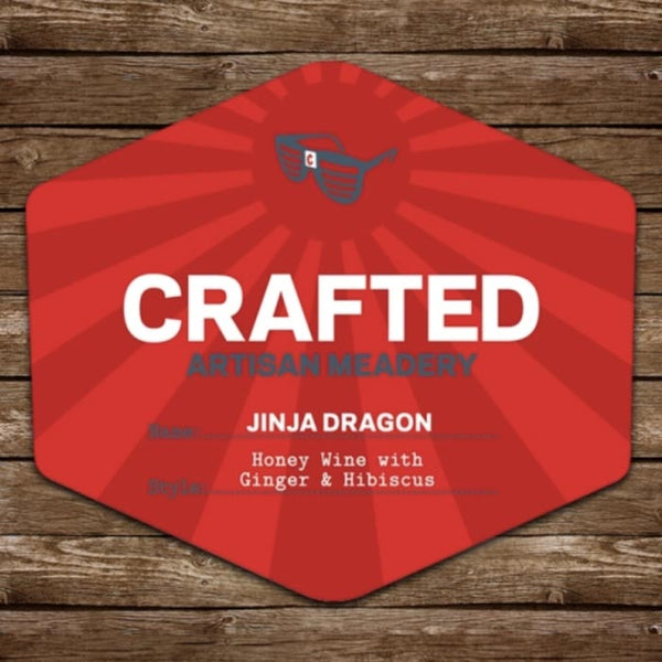 Crafted Artisan Meadery Jinja Dragon 500mL