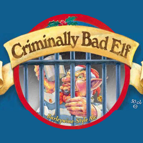 Ridgeway Criminally Bad Elf Barleywine 500mL