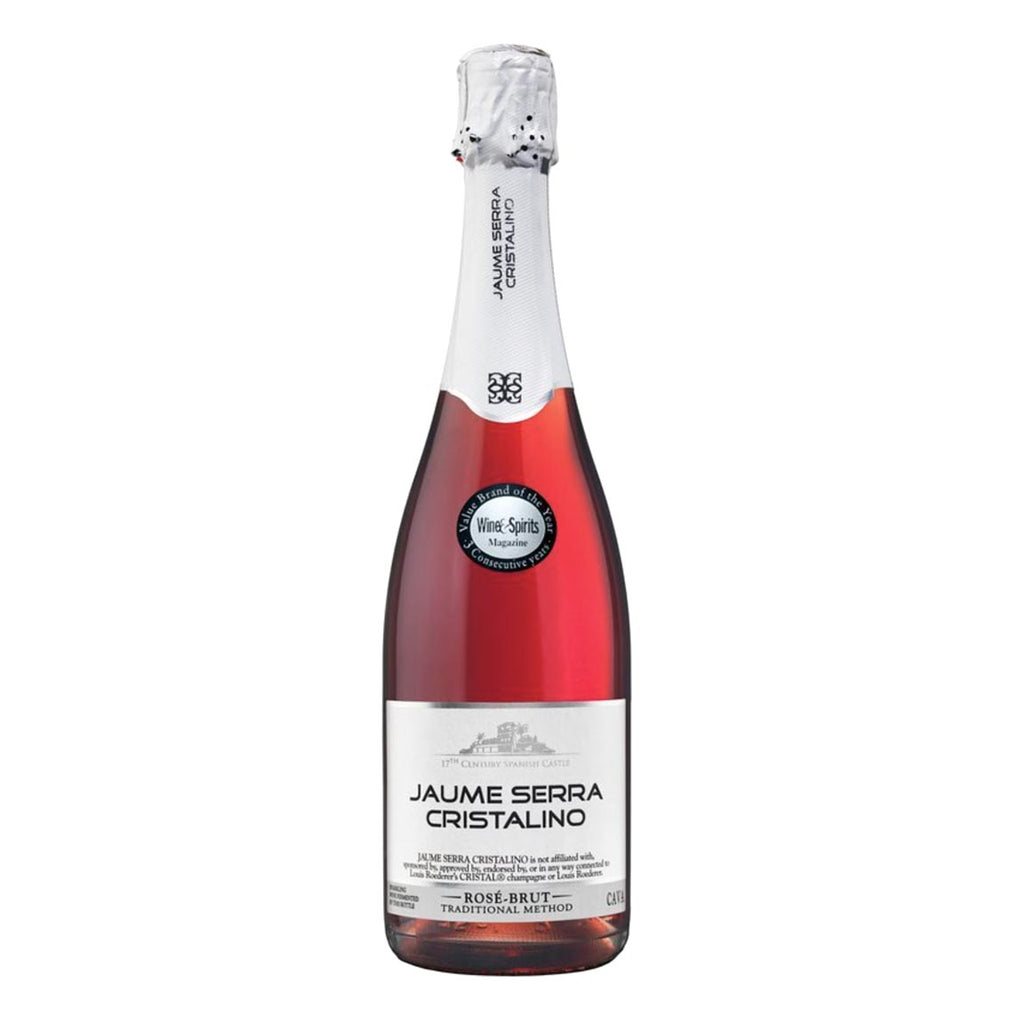 Cristalino Brut Rose by Jaumes Serra