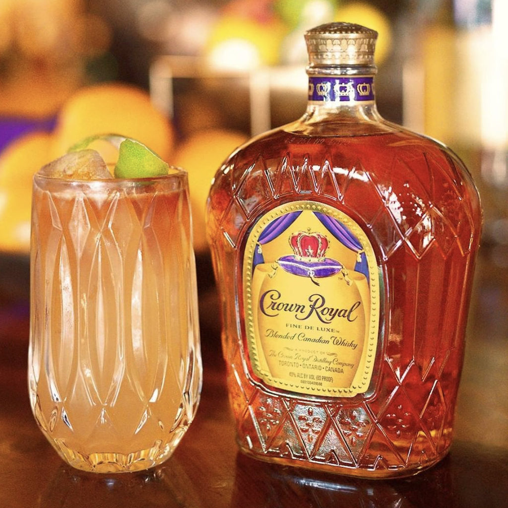 Crown Royal Deluxe Canadian Blended Whiskey 750mL