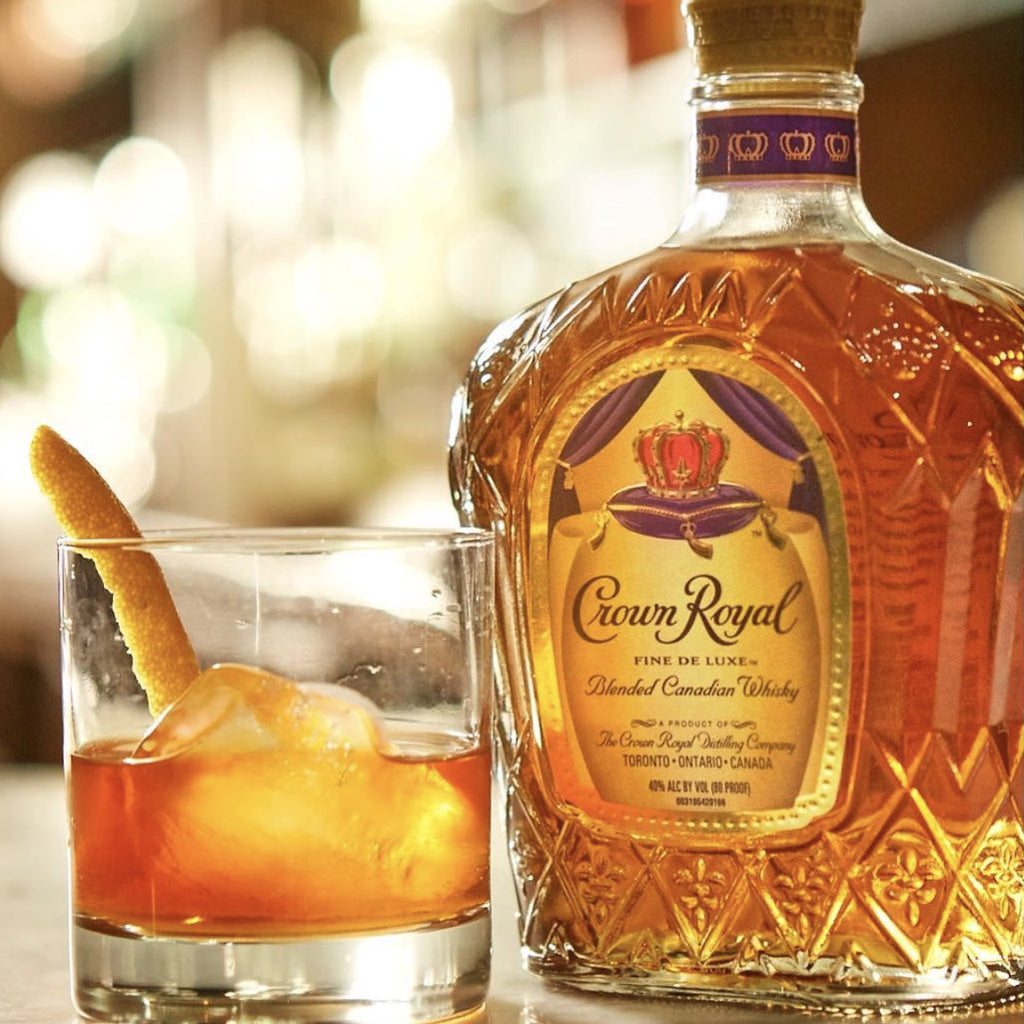 Crown Royal Deluxe Canadian Blended Whiskey 1.75L