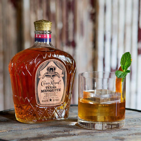 Crown Royal Texas Mesquite Whiskey 750mL