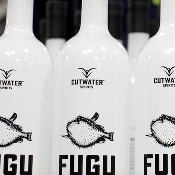 Cutwater Fugu California Small Batch Vodka 750mL