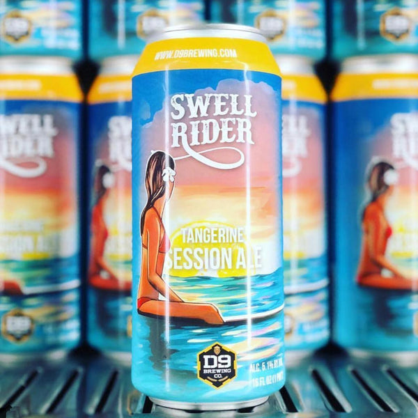 D9 Swell Rider Tangerine Session IPA 4pk