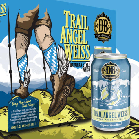 Devil's Backbone Trail Angel Hefeweizen 15pk