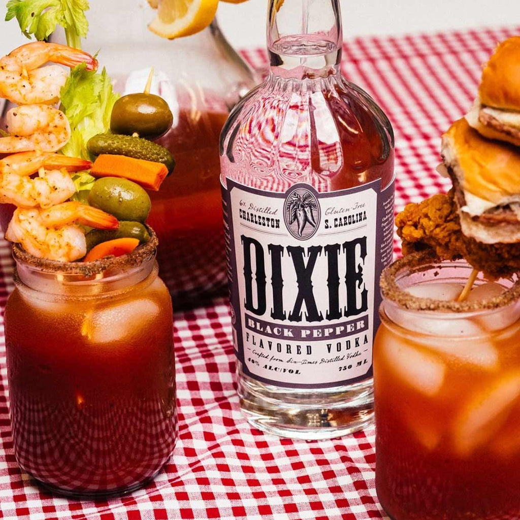 Dixie Black Pepper Vodka 750mL