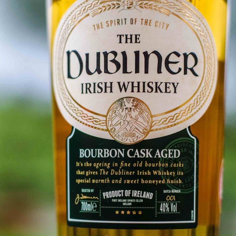The Dubliner Irish Whiskey 750mL