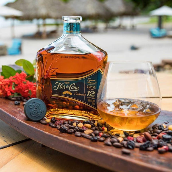 Flor de Caña Centenario 12 Year Old Rum 750mL