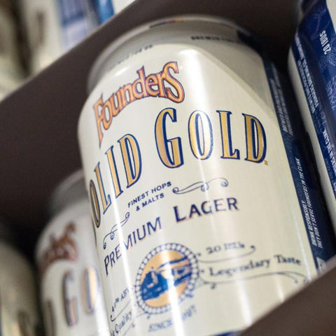 Founders Solid Gold Premium Lager 15pk