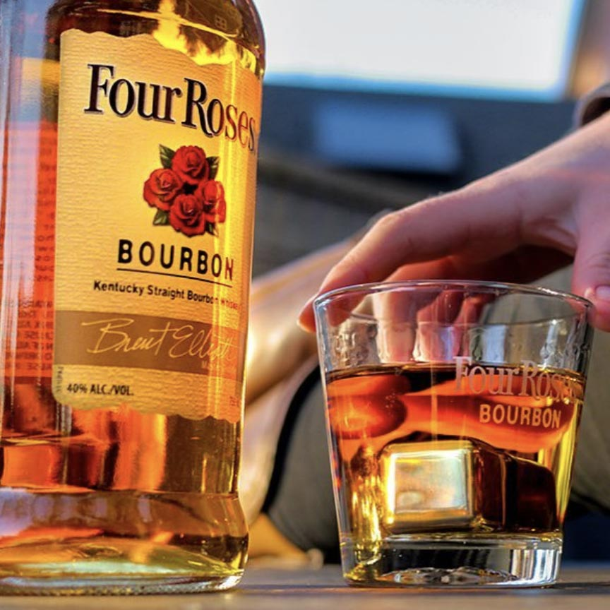 Four Roses Yellow Label Bourbon 1.75L
