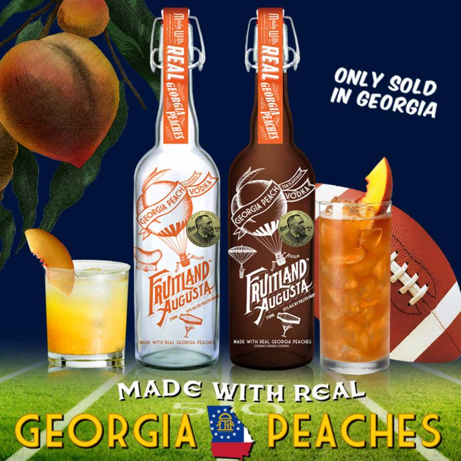 Fruitland Augusta GA Peach Vodka 750mL – Habersham Beverage