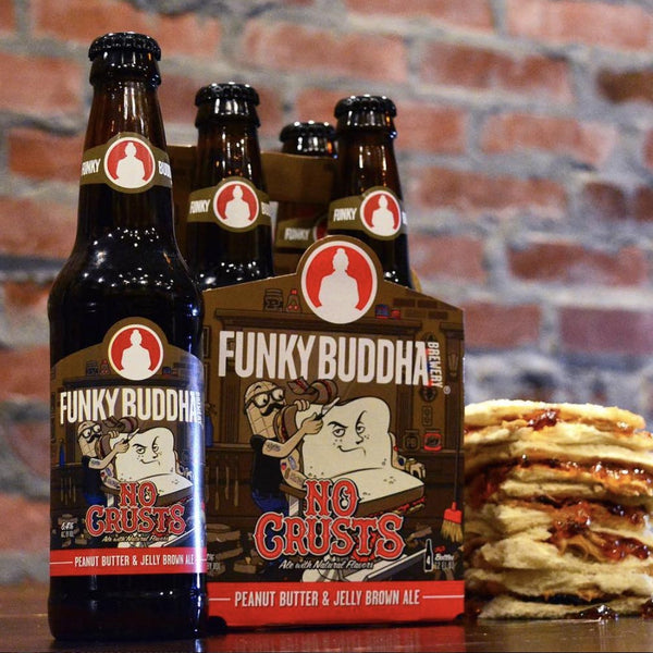 Funky Buddha No Crusts 4pk