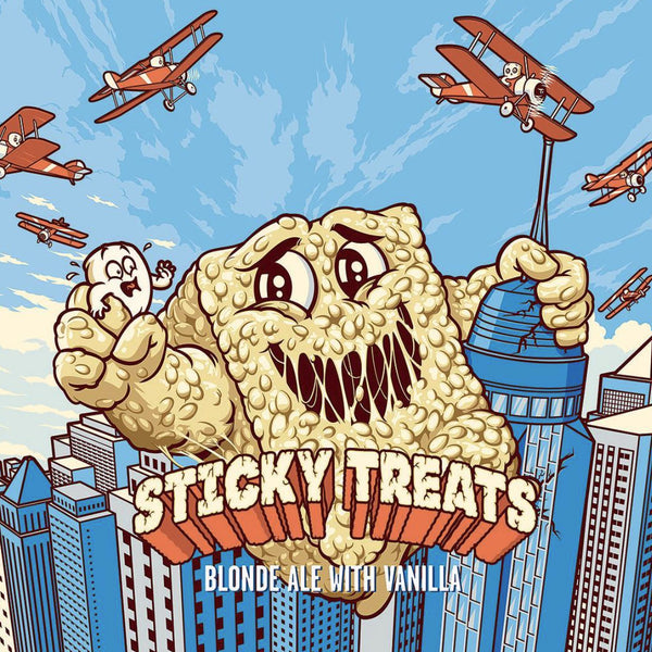 Funky Buddha Sticky Treats 4pk
