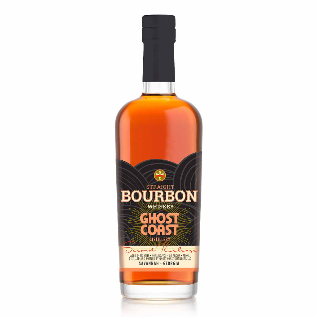 Ghost Coast Straight Bourbon Whiskey Second Release 750mL