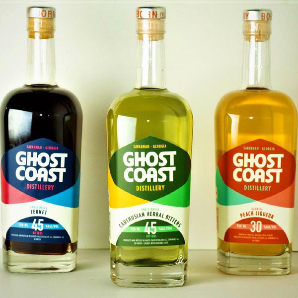 Ghost Coast Peach Liqueur 750mL