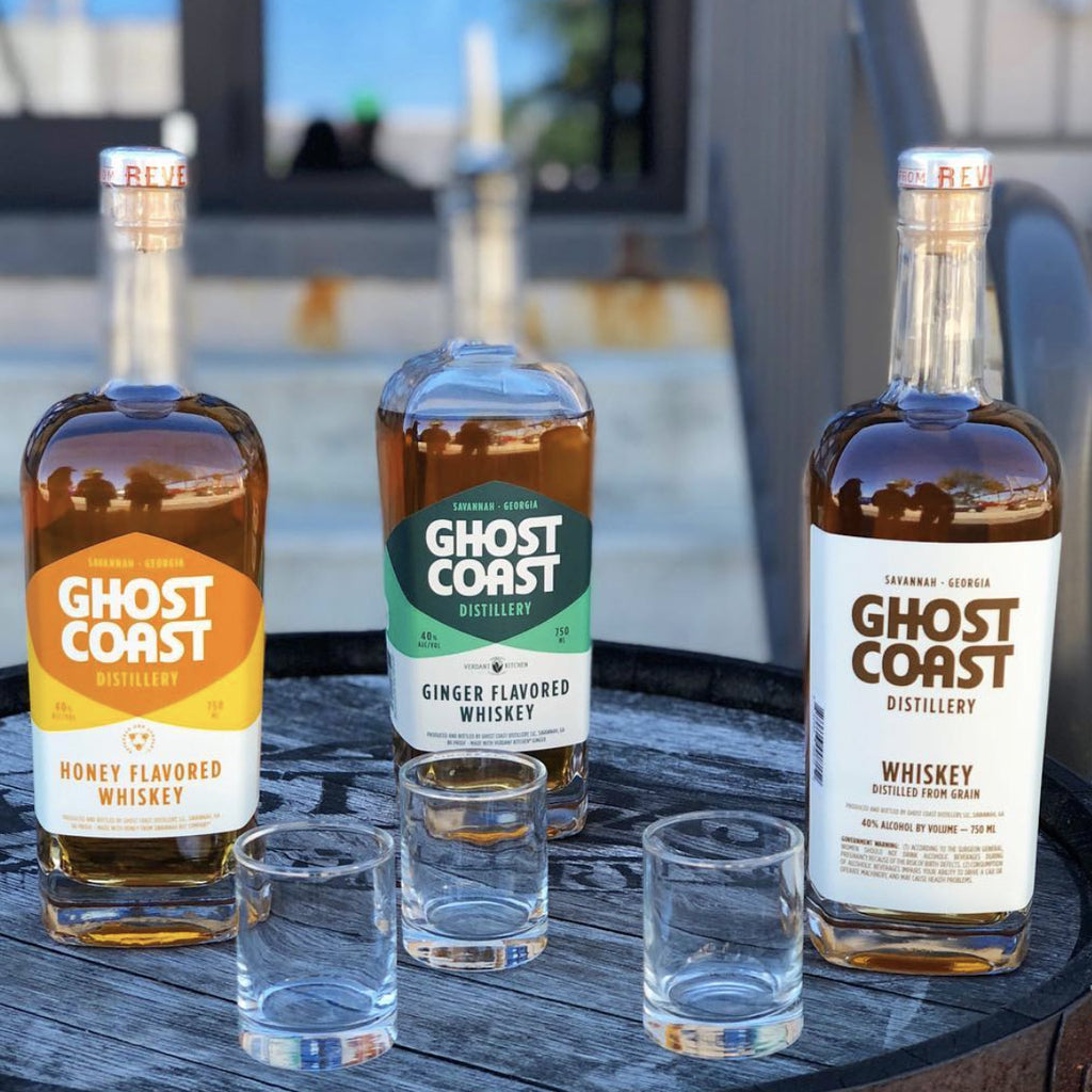 Ghost Coast Honey Flavored Whiskey 750mL