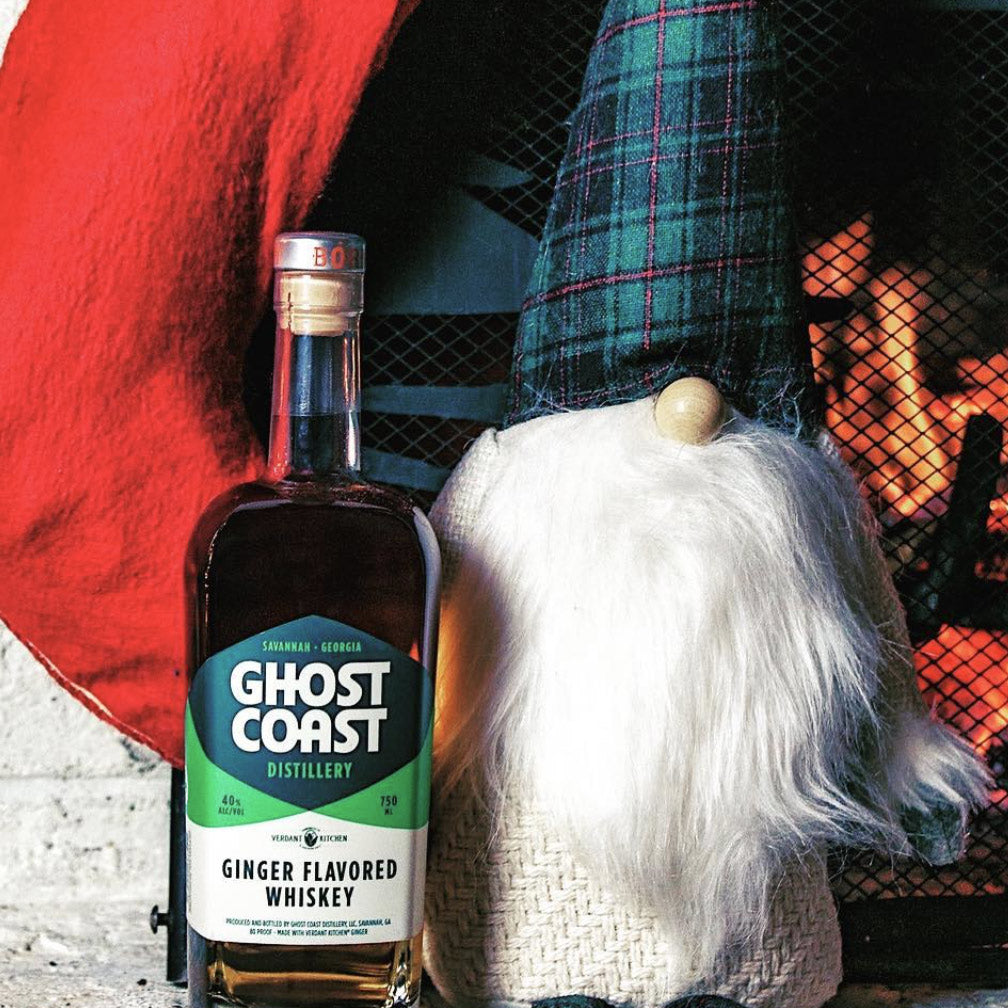 Ghost Coast Ginger Flavored Whiskey 750mL