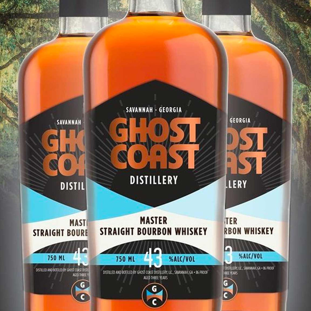 Ghost Coast Master Straight Bourbon Whiskey 750mL