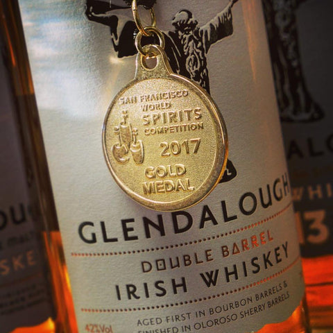 Glendalough Double Barrel Irish Single Grain 750mL