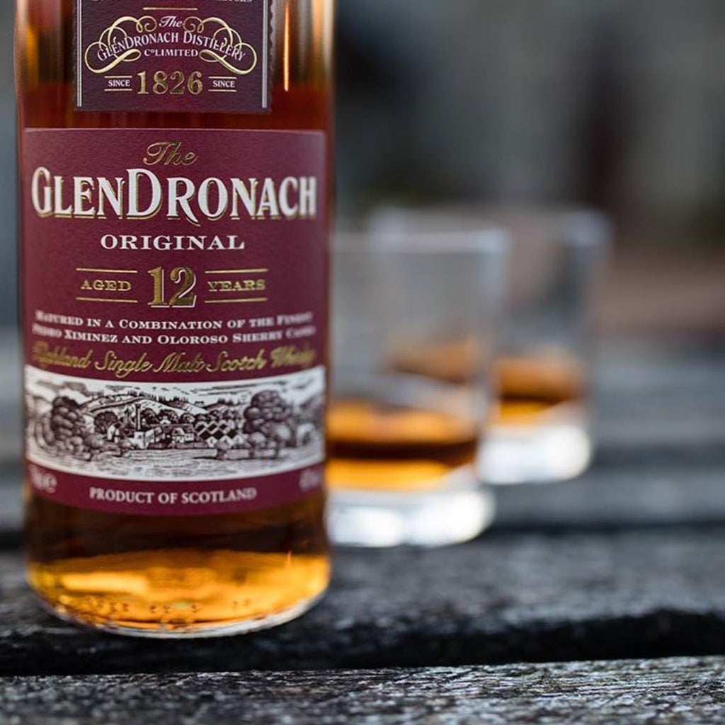 Glendronach 12 Year Single Malt Scotch 750mL