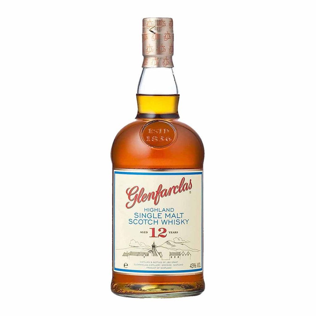 Glenfarclas 12 Year Single Malt Scotch 750mL