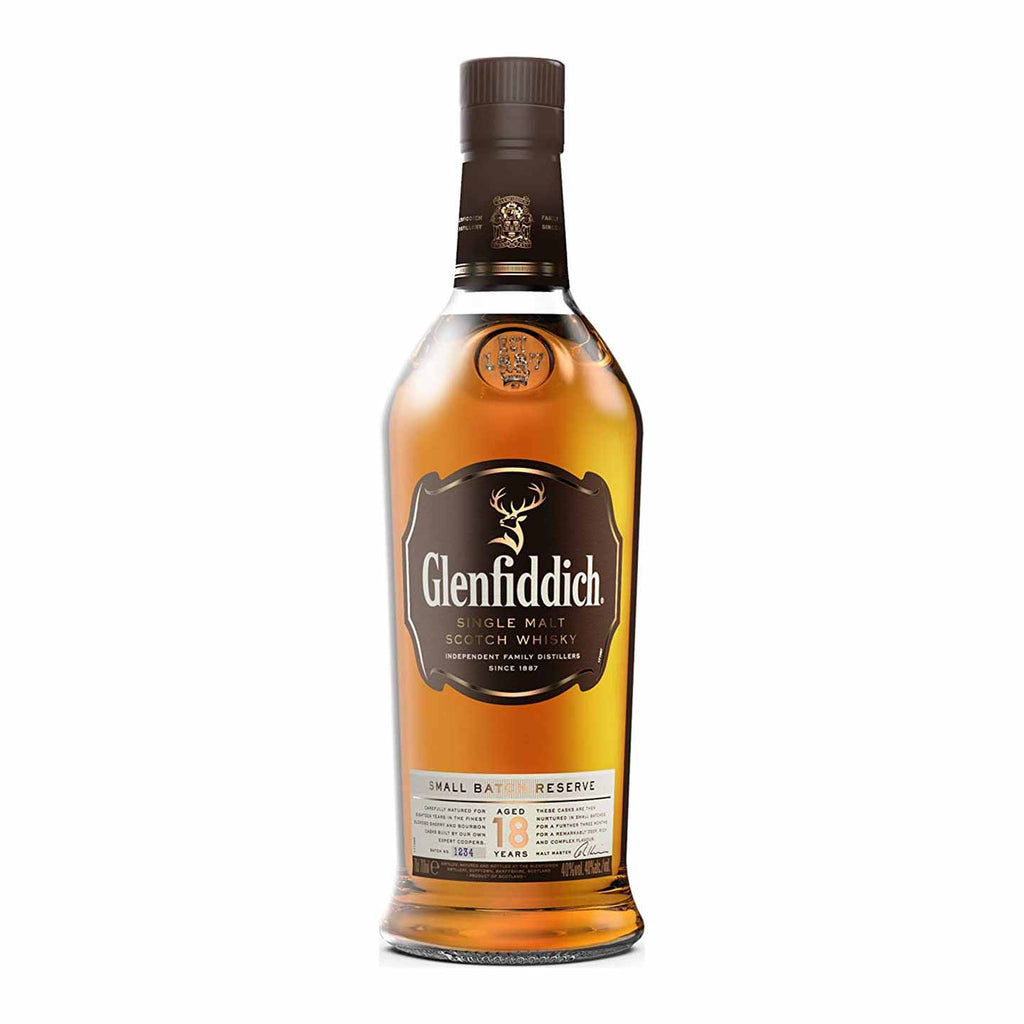 Glenfiddich 18 Year Single Malt Scotch 750mL