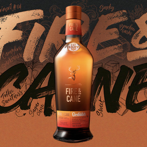 Glenfiddich Fire & Cane Single Malt Scotch 750mL